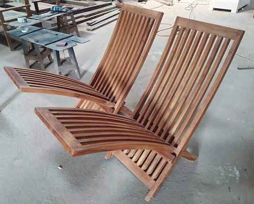 Teak Zero Gravity Chairs