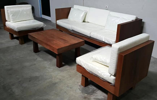 Solid Teak Regency Living Set