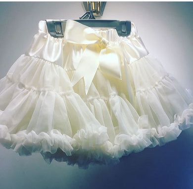 Fluffy dance skirt