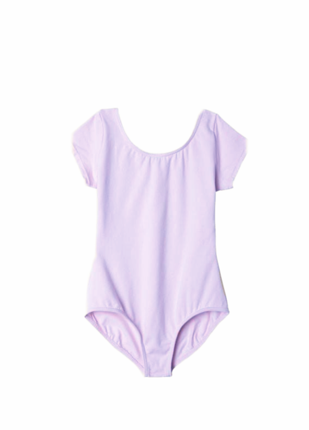 Short Sleeve Leotard Lavender