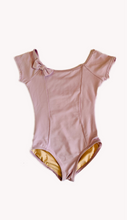 Capezio lavender lavender leotard with bow