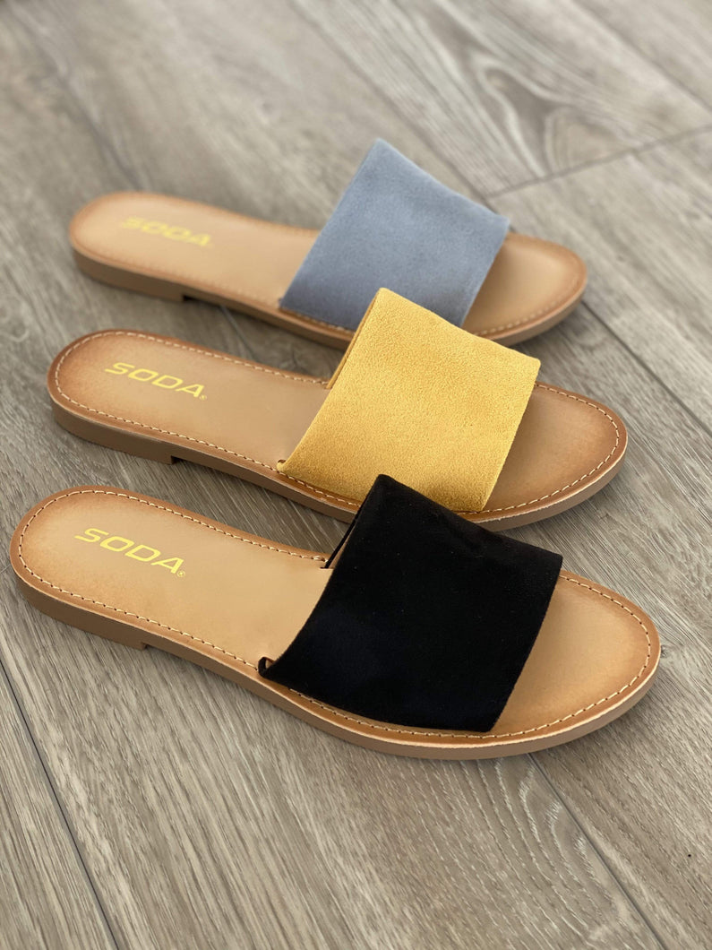 Courtney Slip on Sandals