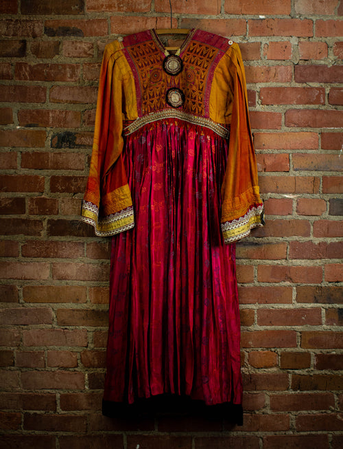 Vintage Afghani Handmade Dress