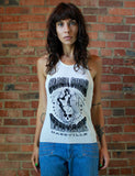 Black Shag Vintage Nashville Devil Woman White Tank Top T Shirt Unisex L XL