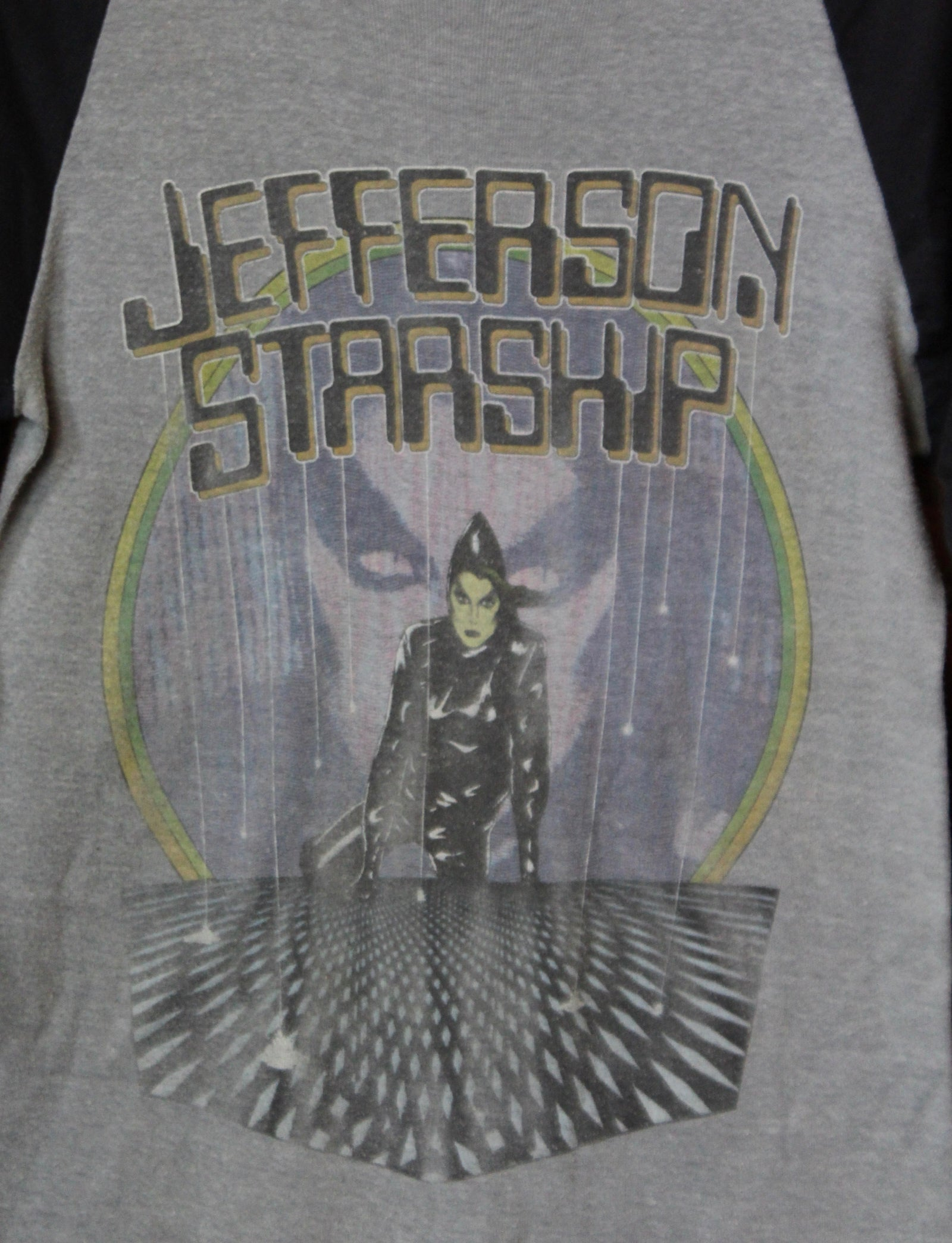 Vintage Jefferson Starship Concert T Shirt Modern Times Tour 1981 Jersey Medium