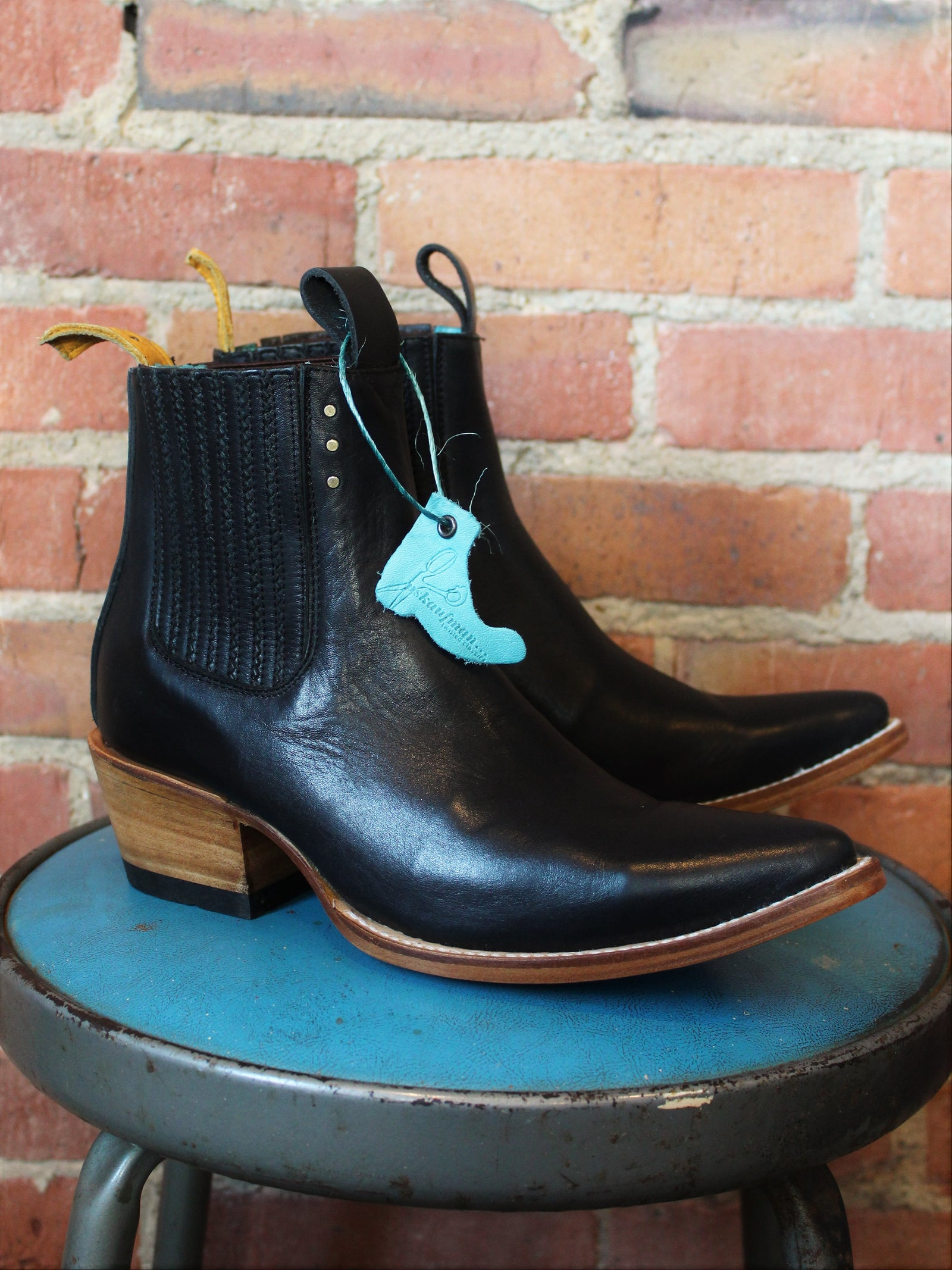 PSKaufman Chelsea Boot No.1001 Freeway Black