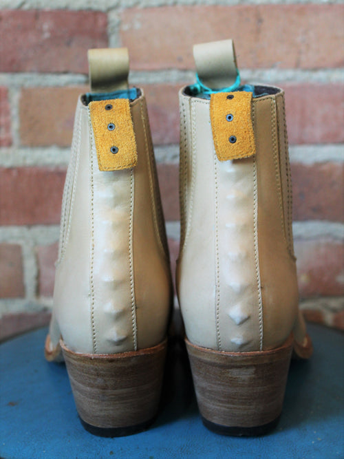 PSKaufman Chelsea Boot No.1001 Freeway Natural Leather