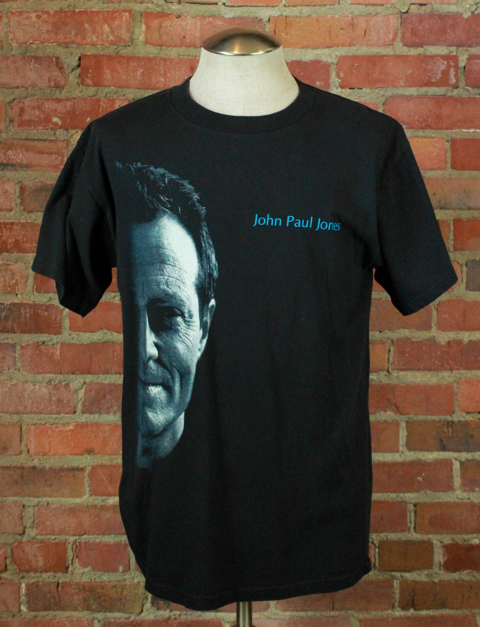 Vintage 2000 John Paul Jones Concert T Shirt - Large