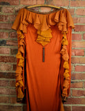 Vintage Showstopper Dress by Bill Whittens Workroom 27 Small 1970s