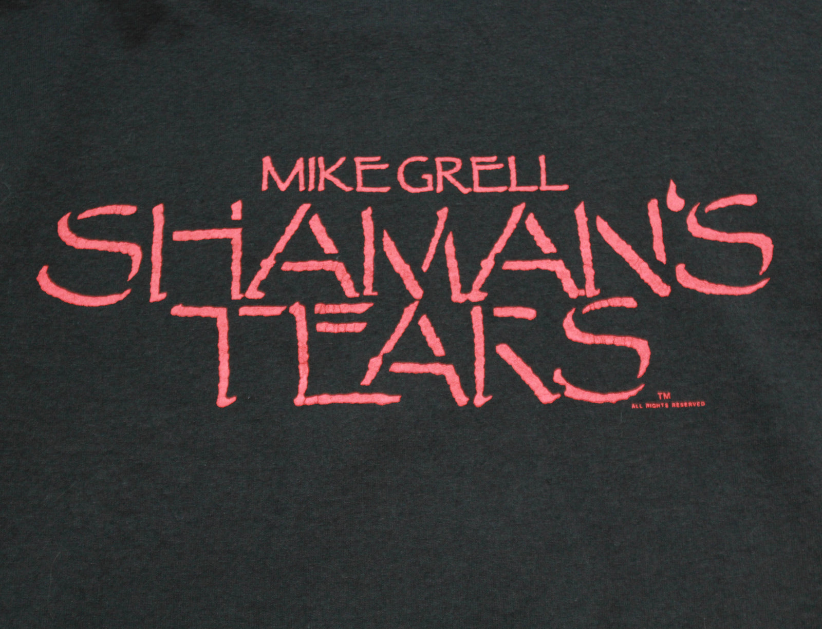 Vintage Shaman's Tears Graphic T Shirt Mike Grell Comic Book Series Unisex Large