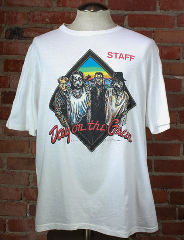 Vintage 80's The Black Hawk Band Concert T Shirt - XS/S