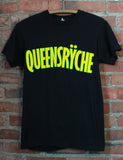 Vintage 1985 Queensryche Concert T Shirt The Warning Tour Black Unisex Small/XS