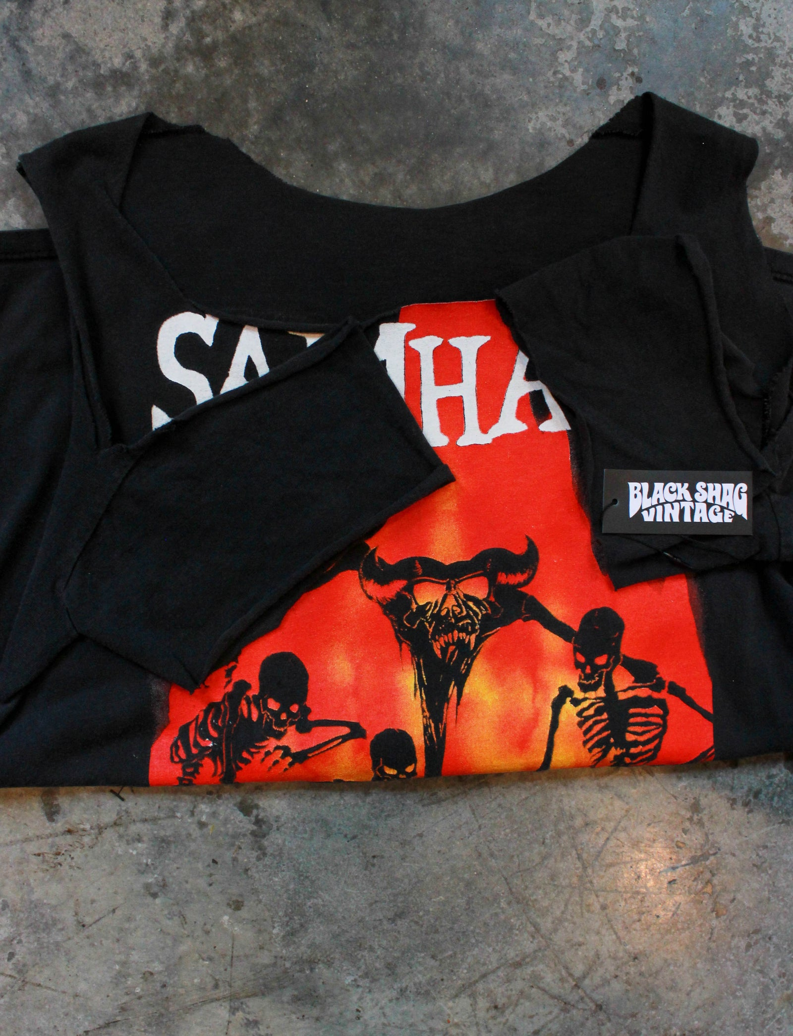 Vintage 1990 Samhain Concert T Shirt November Coming Cut Off Unisex Large