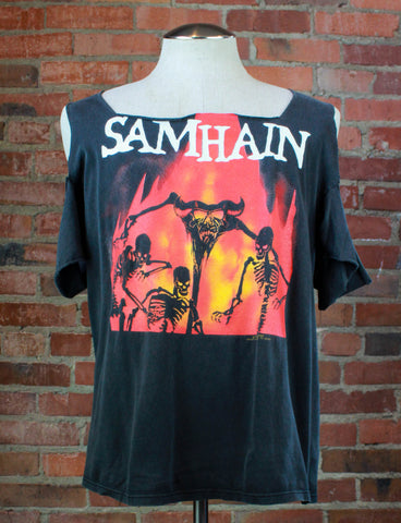 Vintage Iron Maiden Concert T Shirt 1984 World Slavery Tour Jersey - XL