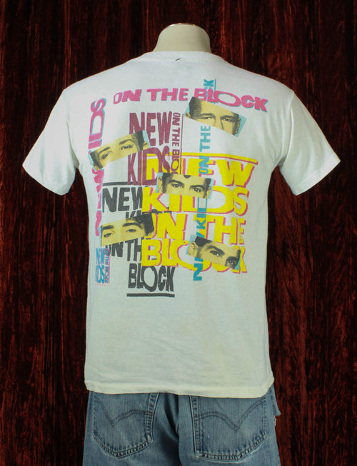 Vintage 1989 New Kids On The Block Concert T Shirt - Medium