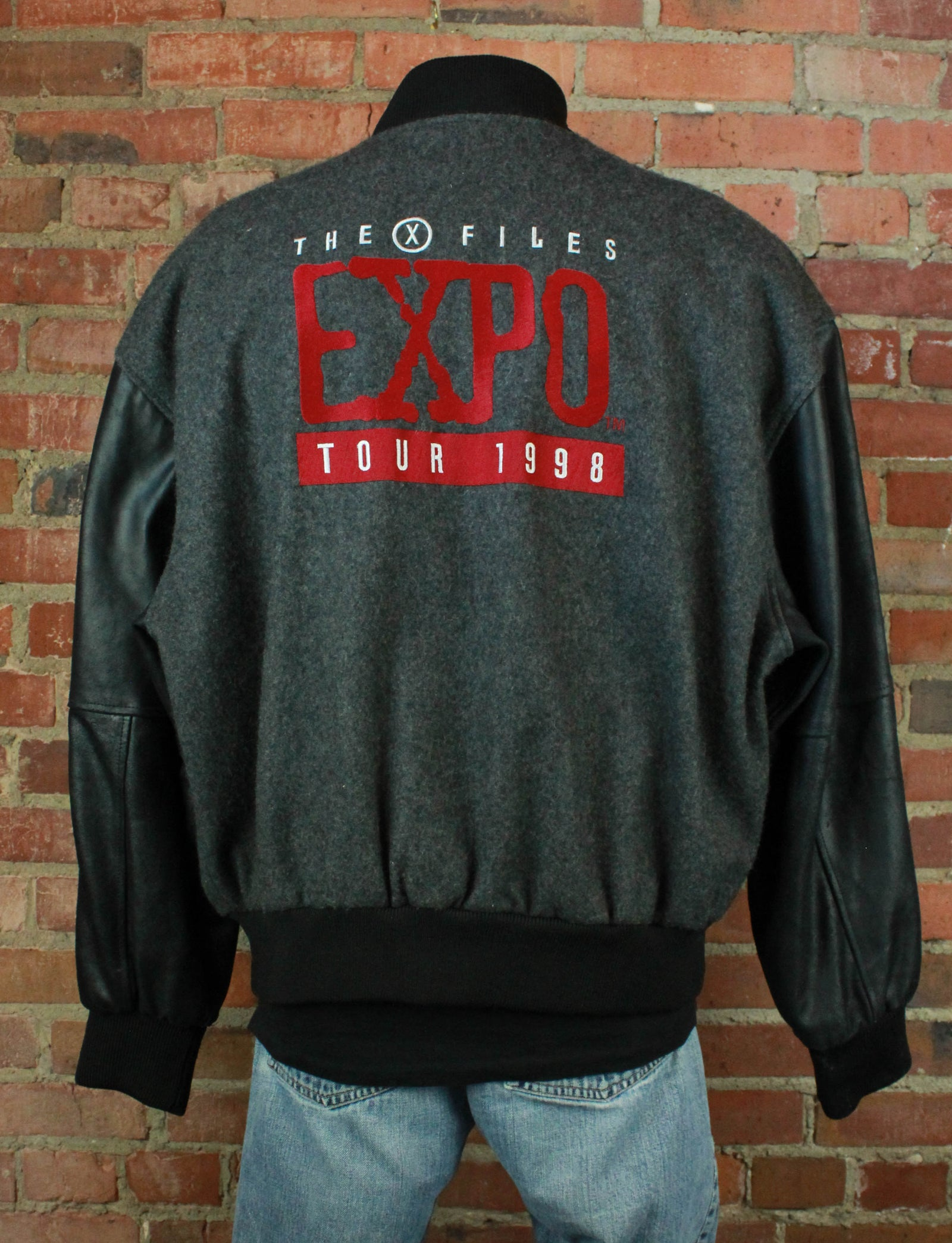 Vintage 1998 X-Files Expo Jacket - Large