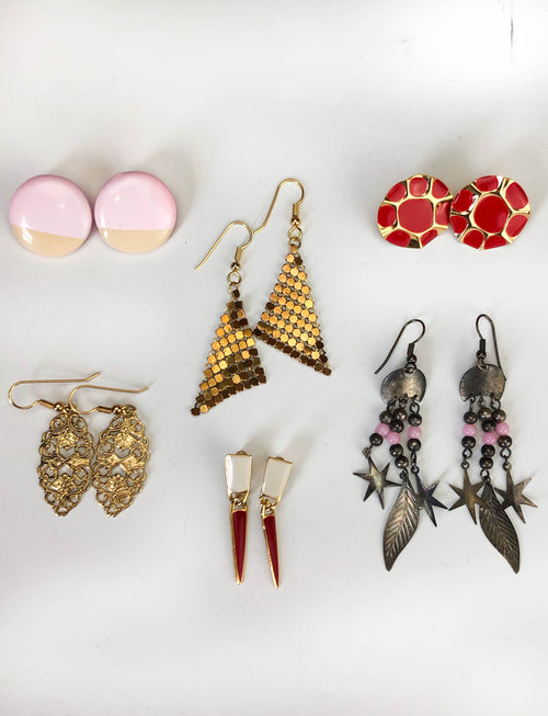 Vintage 80's Deadstock Earrings