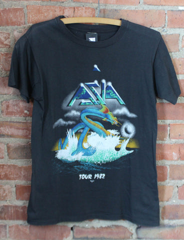 Vintage REM  Concert T Shirt 1989 Earth Air Fire Water Metal Green Era Tour XL