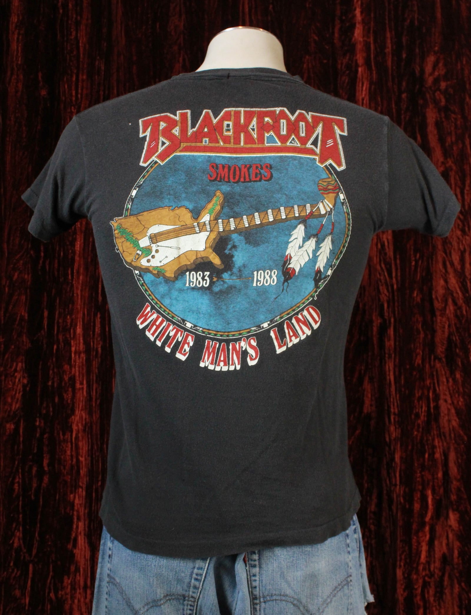 Vintage Blackfoot Concert T Shirt 1983-88 Siogo - Medium