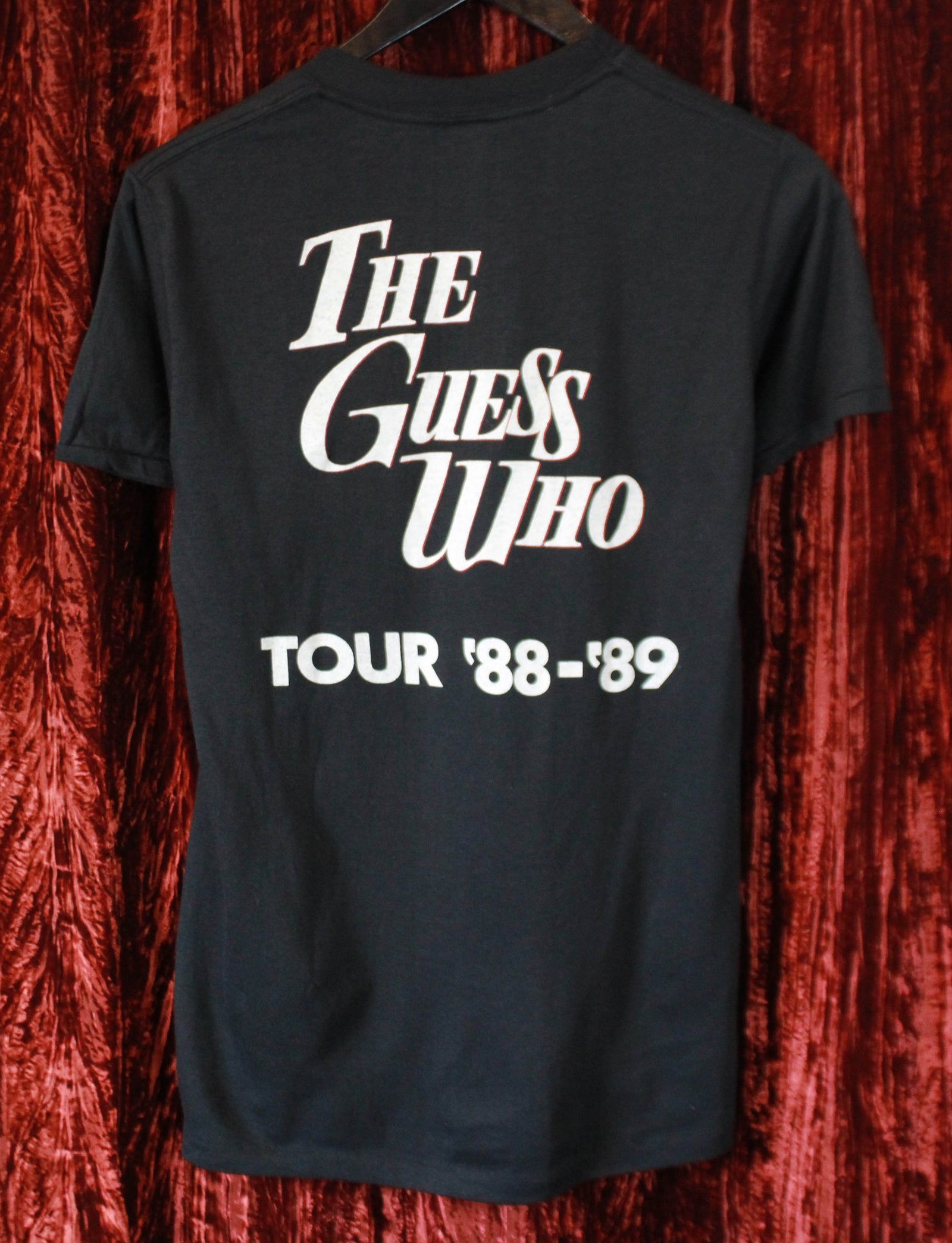 Vintage The Guess Who Concert T Shirt 1988-89 Tour Unisex Medium