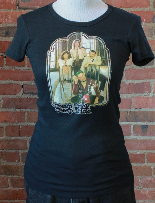Women's Vintage Cheap Trick Concert T Shirt 1978 Iron-On Extra Small