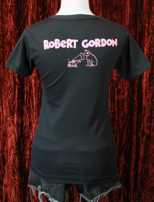 Vintage Robert Gordon Promo T Shirt 1982 Rock Billy Boogie Size Small