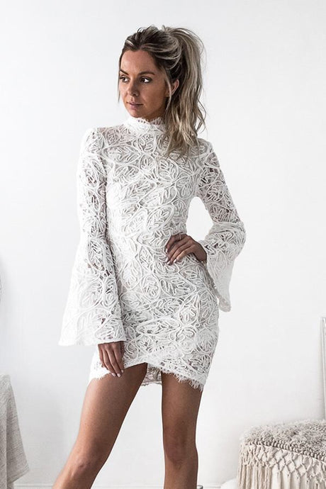 Camile Long Sleeve Lace Dress