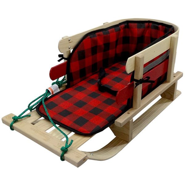 Frontier Sleigh with Plaid Pad