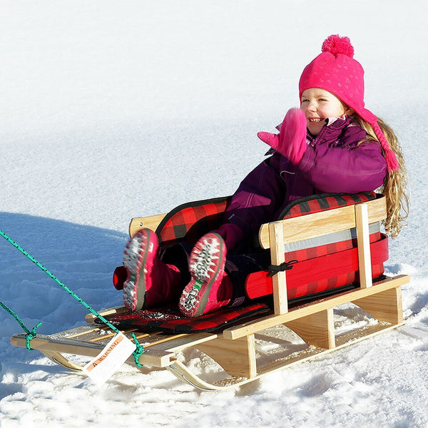 Frontier XL Sleigh with Plaid Pad