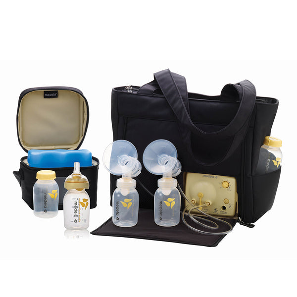 Pump in Style Double Electric Breast Pump - with Tote Bag
