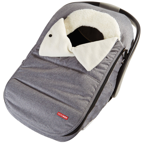 Stroll & Go Car Seat Cover - Heather Grey