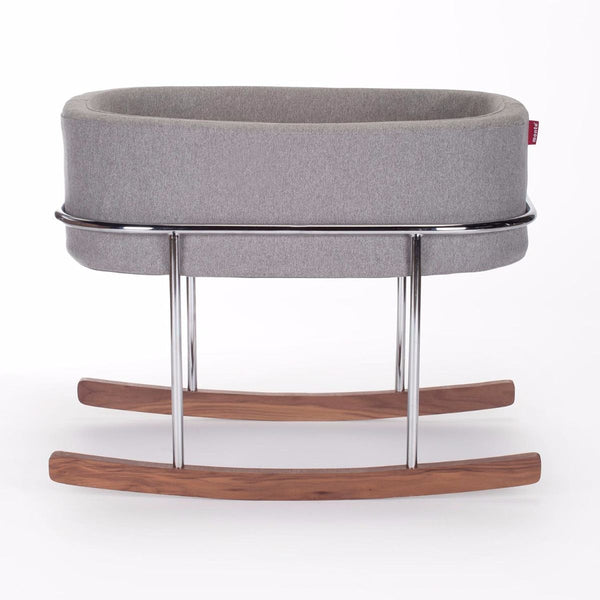 Rockwell Bassinet - Heather Grey