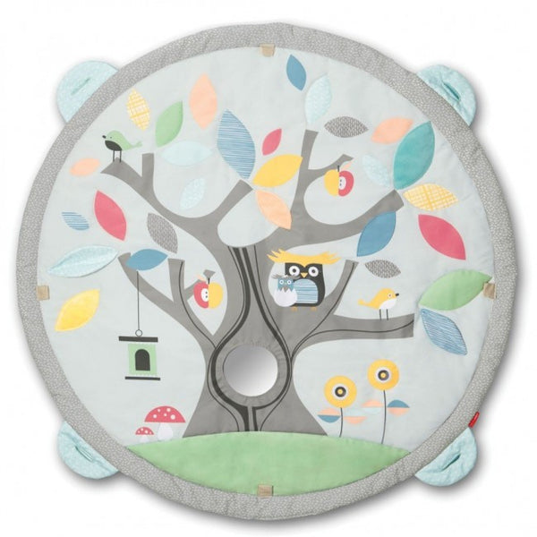 Treetop Friends Baby Activity Gym - Grey Pastel