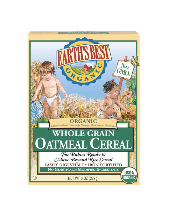 Earth's Best, Cereal de Avena,  227g