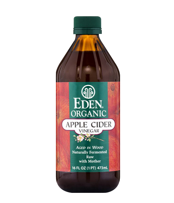 Apple Cider Vinegar Organic - Vinagre, 473 mL