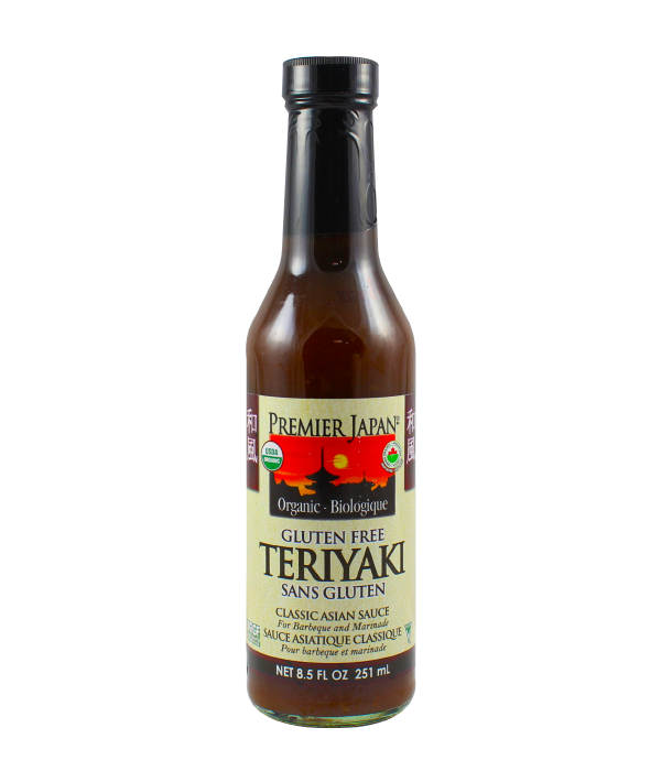 Premier Japan, Salsa Teriyaki sin gluten, 251 ml
