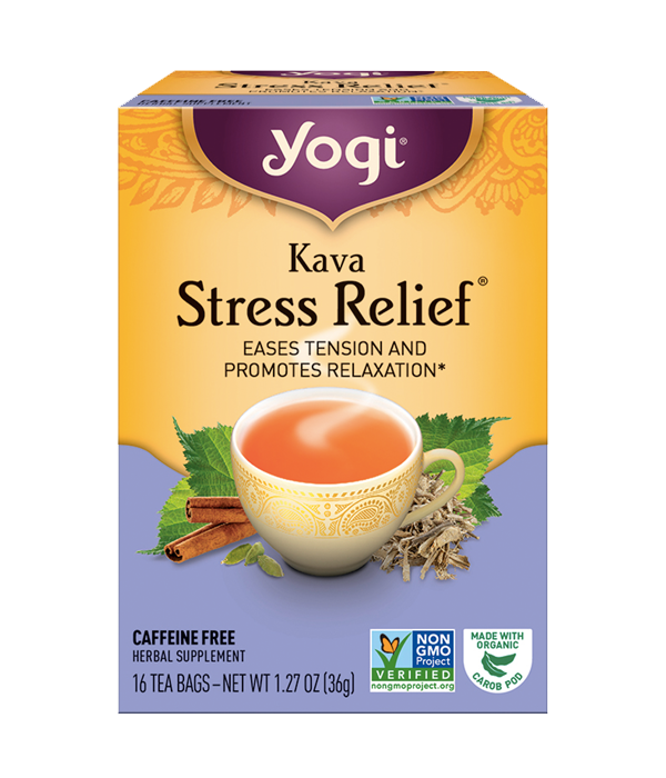 Kava Stress Relief, Kava Tension, 16 sobres