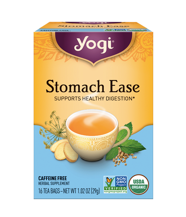 Yogi Tea, Stomach Ease - Té Orgánico Regaliz y Cardamomo