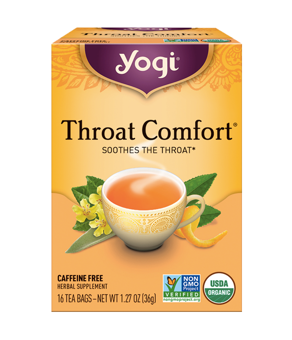 Throat Comfort, Garganta Confort, 16 sobres