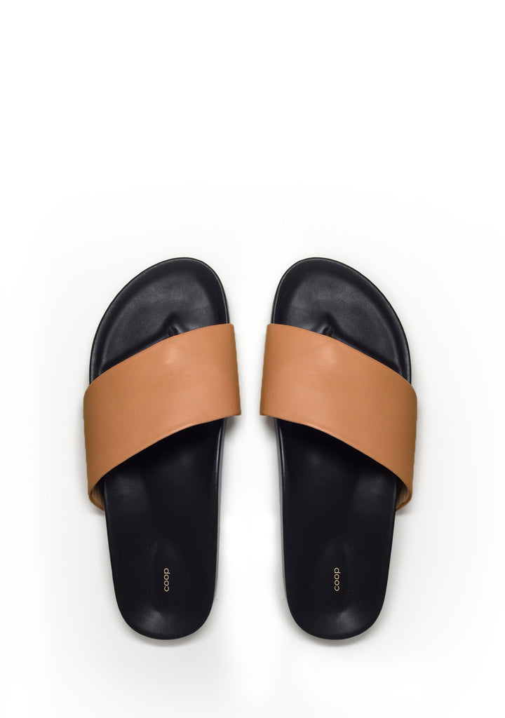 Modern leather sandal