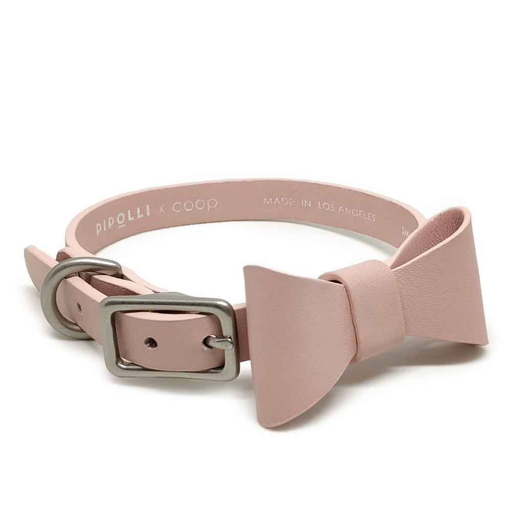 Pipolli x coop Bow Tie Collar - Rose
