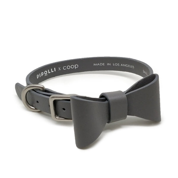 Pipolli x coop Bow Tie Collar - Stone