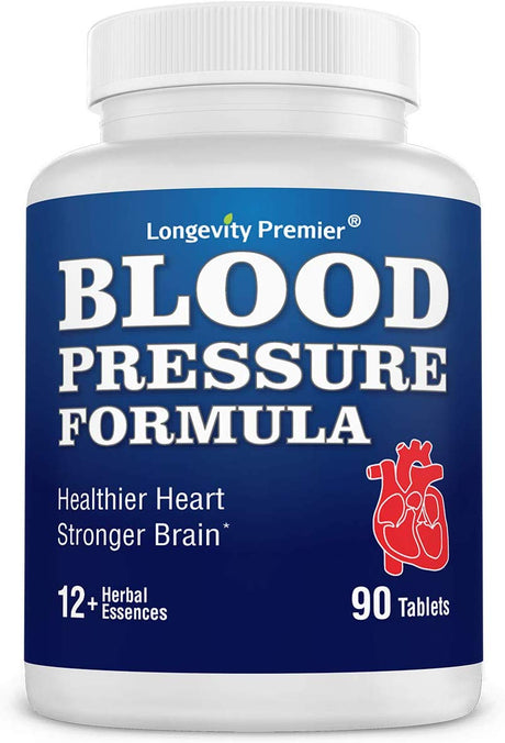 Longevity Blood Pressure Formula [90 tablets]