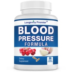 Longevity Blood Pressure Formula: Exclusive formulation to support healthy blood pressure with natural herbs. Best  supplement for blood pressure.