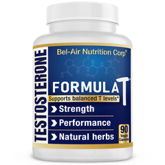 Formula-T: Natural testosterone booster. Stamina, performance & endurance