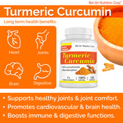 joint health supplements, turmeric capsules, best curcumin supplement