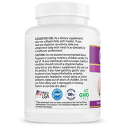Bel-Air Garlic Extract - Odorless & Max Strength Garlic 1000 mg Equivalence; 500:1 Parsley Seed Concentrate with Chlorophyll (120 softgels) - Longevity Premier Nutraceuticals Inc