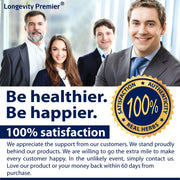 Longevity Glucose Formula with Bitter Melon 600mg and Berberine 500mg for Blood Sugar Support. Best Blood Sugar Formula. (60 vCaps)
