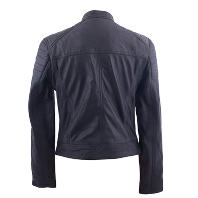 Patti - Ladies Leather bomber jacket