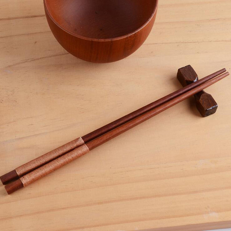 WoodChop™ Premium Wooden Chopsticks set Korean Household 10 Pieces (5 pairs)